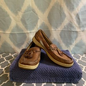 Sperry Top Sider Womens Tassel Shoes - Size 6.5M